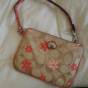 Authentic Coach Poppy Small Wristlet